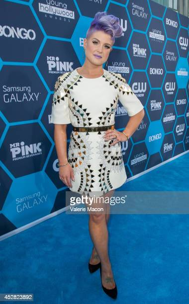 Host Kelly Osbourne arrives at the 16th Annual Young Hollywood Awards at The Wiltern on July 27 2014 in Los Angeles California