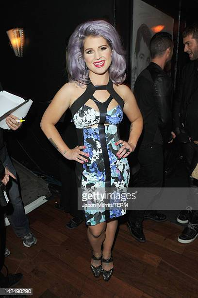 Host Kelly Osbourne attends Logo's NewNowNext Awards 2012 at Avalon on April 5 2012 in Hollywood California