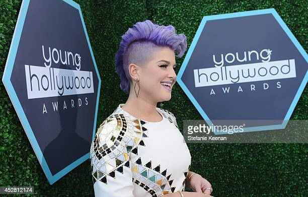 Host Kelly Osbourne attends the 2014 Young Hollywood Awards brought to you by Mr Pink held at The Wiltern on July 27 2014 in Los Angeles California