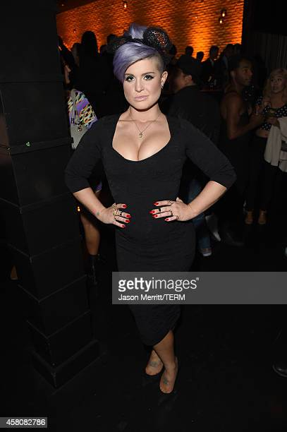 Host Kelly Osbourne attends the after party for amfAR Inspiration Los Angeles 2014 at STK on October 29 2014 in Hollywood California