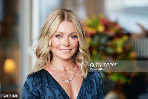 Host Kelly Ripa arrives at the Los Angeles LGBT Center's 49th Anniversary Gala Vanguard Awards at The Beverly Hilton Hotel on September 22 2018 in...