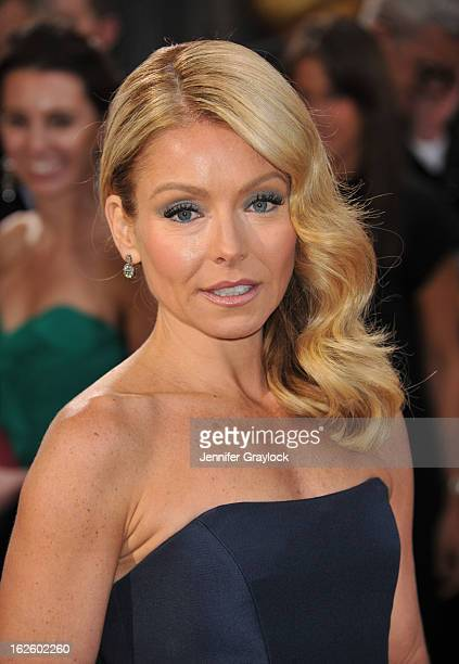 Host Kelly Ripa attends the 85th Annual Academy Awards held at the Hollywood Highland Center on February 24 2013 in Hollywood California