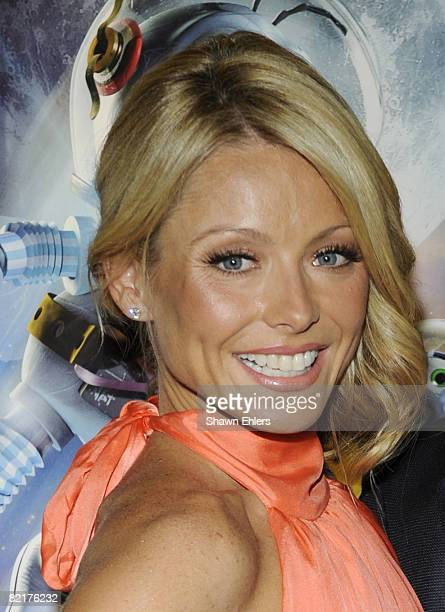 TV host Kelly Ripa attends the screening of Fly Me to the Moon at the Regal Union Square on July 31 2008 in New York City