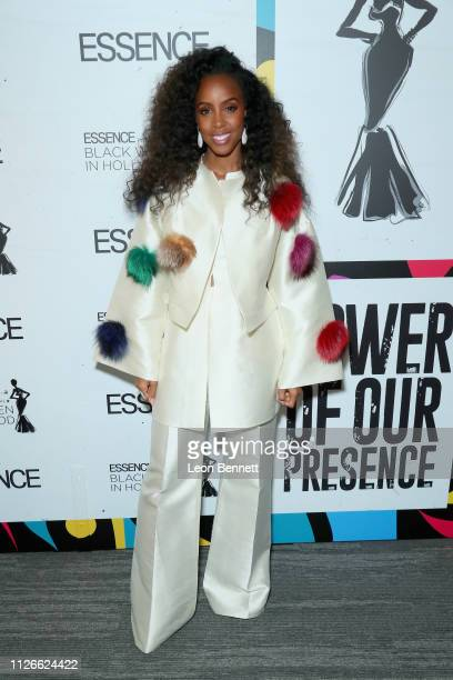 Host Kelly Rowland attends the 2019 Essence Black Women in Hollywood Awards Luncheon at Regent Beverly Wilshire Hotel on February 21 2019 in Los...