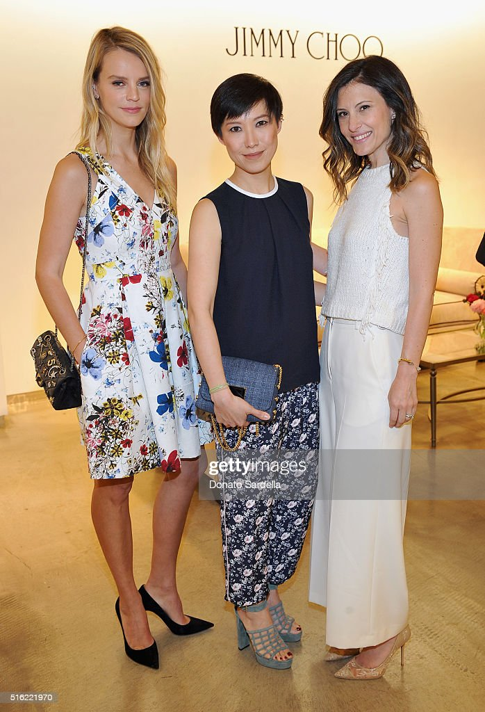 Saks Fifth Avenue Presents Jimmy Choo's Memento Collection By Creative Director Sandra Choi