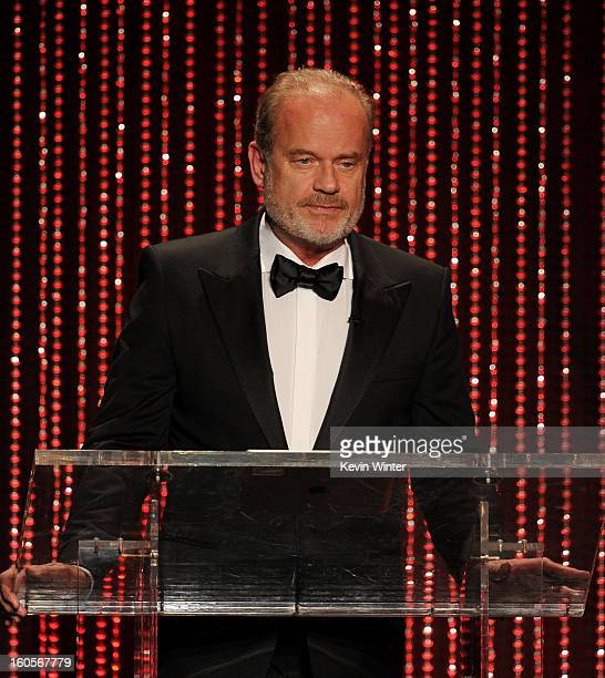 Host Kelsey Grammer speaks onstage during the 65th Annual Directors Guild Of America Awards at Ray Dolby Ballroom at Hollywood Highland on February 2...