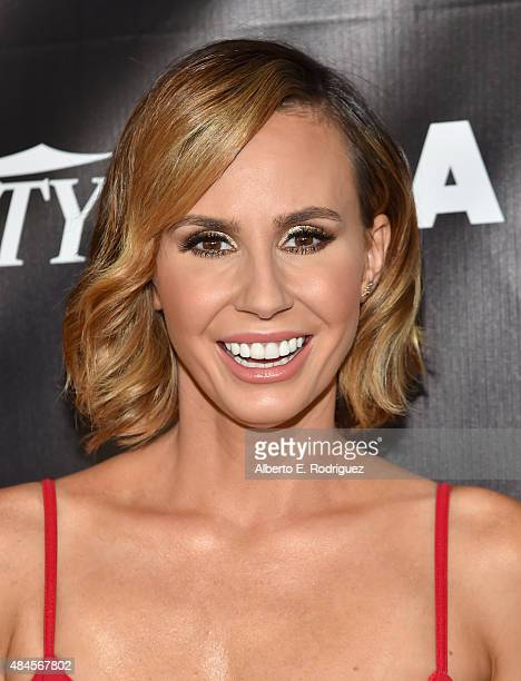 TV host Keltie Knight attends the 2015 Industry Dance Awards and Cancer Benefit Show at Avalon on August 19 2015 in Hollywood California