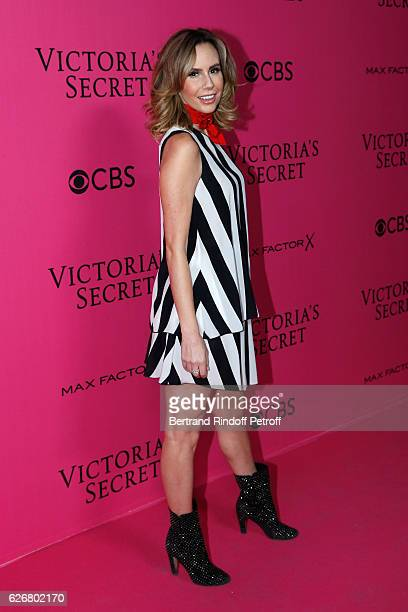 Host Keltie Knight attends the 2016 Victoria's Secret Fashion Show Held at Grand Palais on November 30 2016 in Paris France