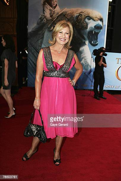 Host Kerri Anne Kennerly arrives at the Australian Premiere of The Golden Compass at the State Theatre on December 16 2007 in Sydney Australia