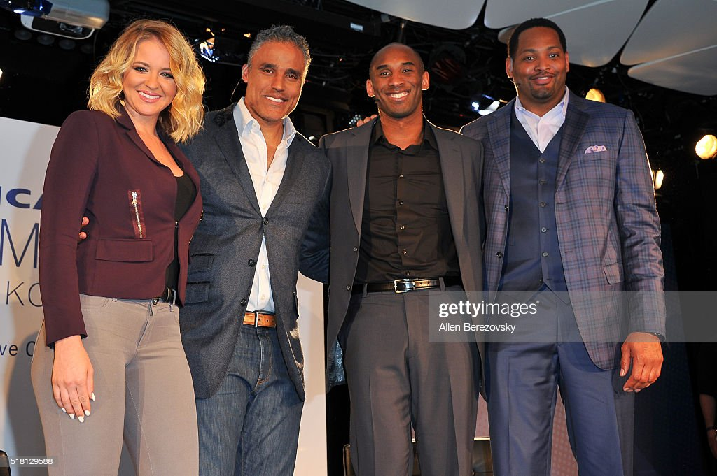 American Express Teamed Up With Kobe Bryant, Rick Fox And Robert Horry At Conga Room In Los Angeles : News Photo