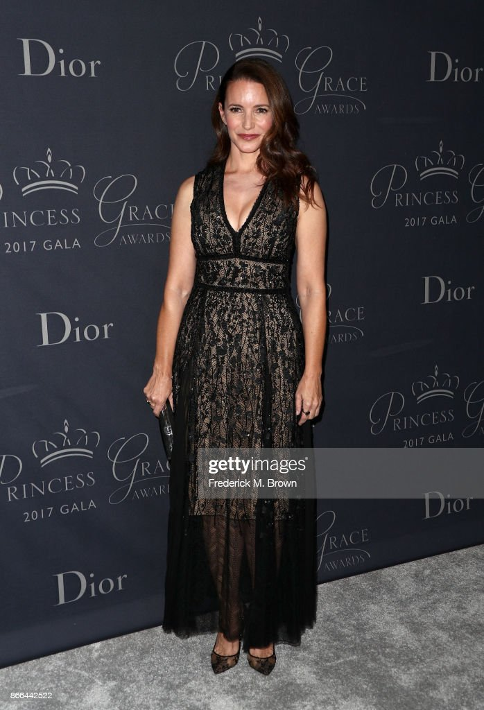Host Kristin Davis attends 2017 Princess Grace Awards Gala at The Beverly Hilton Hotel on October 25, 2017 in Beverly Hills, California.