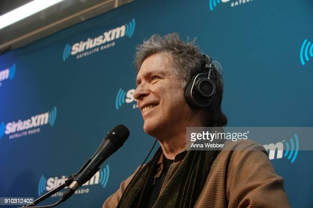 Host Kurt Loder during SiriusXM Town Hall With Judd Apatow Michael Bonfiglio The Avett Brothers Hosted By Kurt Loder at SiriusXM Studios on January...