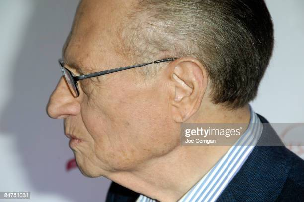 TV host Larry King attends the 6th Annual Woman's Day Red Dress Awards at Jazz at Lincoln Center on February 11 2009 in New York City