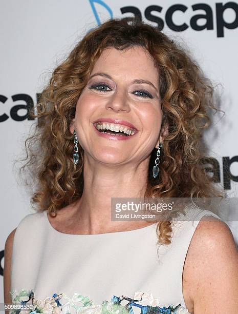 PBS host Laura Savini Webb attends the ASCAP GRAMMY Nominee Cocktail Soiree at SLS Hotel on February 12 2016 in Los Angeles California