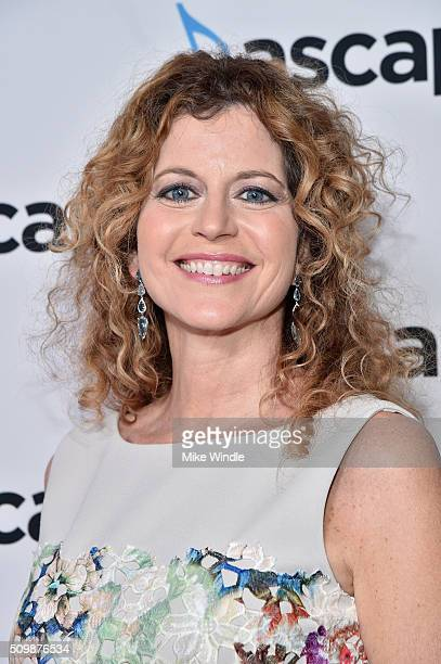 Host Laura Savini Webb attends the ASCAP Grammy Nominees Reception at SLS Hotel on February 12 2016 in Beverly Hills California