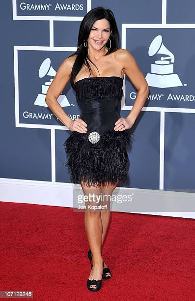 TV host Lauren Sanchez arrives at the 52nd Annual GRAMMY Awards held at Staples Center on January 31 2010 in Los Angeles California