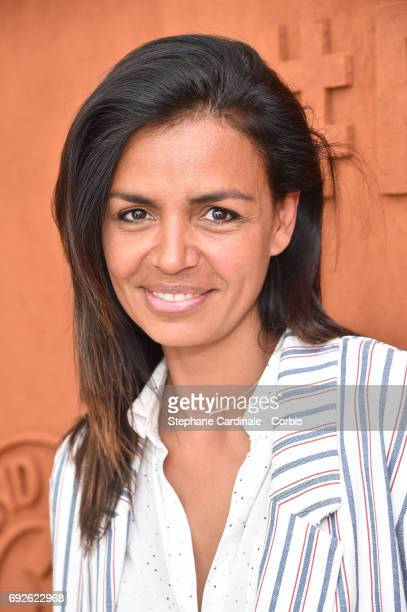 Host Laurence Roustandjee attends the 2017 French Tennis Open Day Nine at Roland Garros on June 5 2017 in Paris France
