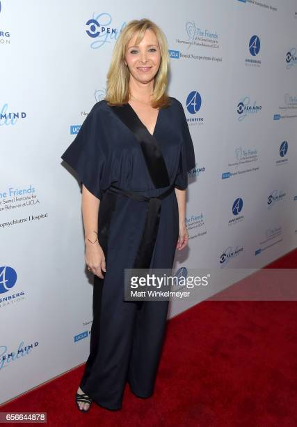 Host Lisa Kudrow attends UCLA Semel Institute's 'Open Mind Gala' at The Beverly Hilton Hotel on March 22 2017 in Beverly Hills California