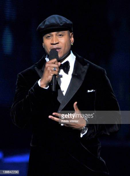 Host LL Cool J speaks onstage at the 54th Annual GRAMMY Awards held at Staples Center on February 12 2012 in Los Angeles California