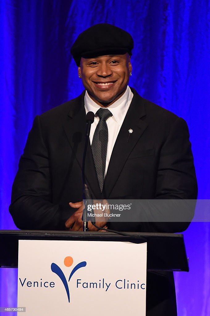 host ll cool j speaks onstage during the venice family clinics silver circle gala at regent - Silver Hotel 2015