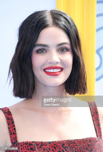 Host Lucy Hale attends FOX's Teen Choice Awards 2019 on August 11 2019 in Hermosa Beach California