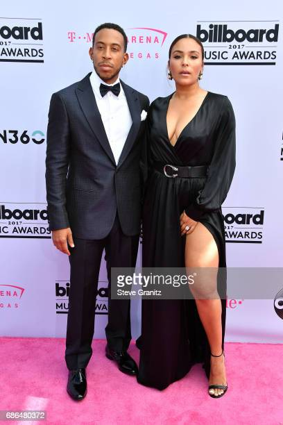 Host Ludacris and model Eudoxie Mbouguiengue attend the 2017 Billboard Music Awards at TMobile Arena on May 21 2017 in Las Vegas Nevada