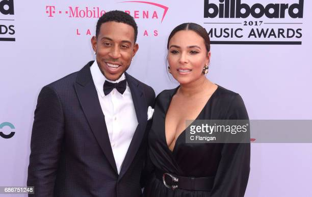 Host Ludacris and model Eudoxie Mbouguiengue attend the 2017 Billboard Music Awards at the TMobile Arena on May 21 2017 in Las Vegas Nevada