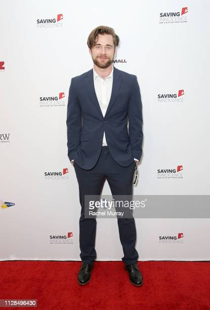 Host Luke Benward attends the 7th Annual Saving Innocence Gala An Organization Working To Combat Child SexTrafficking held at the Lowes Hollywood...