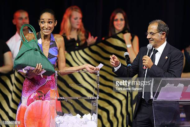 Host Marc Toesca attends the FightAids Monaco Summer Gala at the Monte Carlo Sporting Club on July 13 2011 in Monte Carlo Monaco