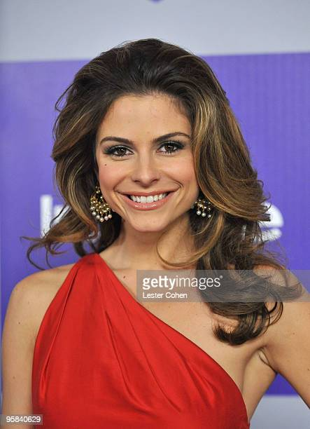 Host Maria Menounos attends the InStyle and Warner Bros. 67th Annual Golden Globes post party held at the Oasis Courtyard at The Beverly Hilton Hotel...