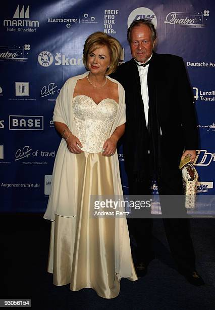 TV host Marijke Amado and guest attend the Unesco Charity Gala 2009 at the Maritim Hotel on November 14 2009 in Dusseldorf Germany