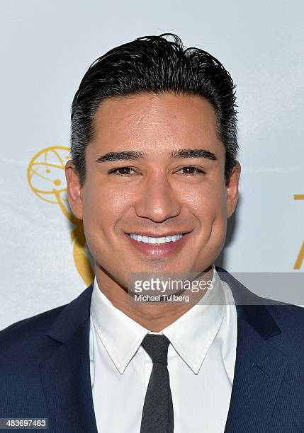 Host Mario Lopez attends The Television Academy's An Evening Of Laughs With 'America's Funniest Home Videos' at Leonard H Goldenson Theatre on April...