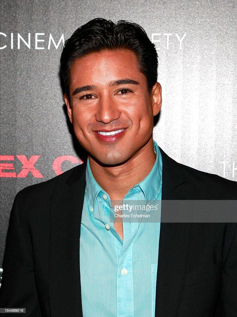 TV host Mario Lopez attends The the Cinema Society & Grey Goose screening of 'Alex Cross' at Tribeca Grand Screening Room on October 18, 2012 in New York City.