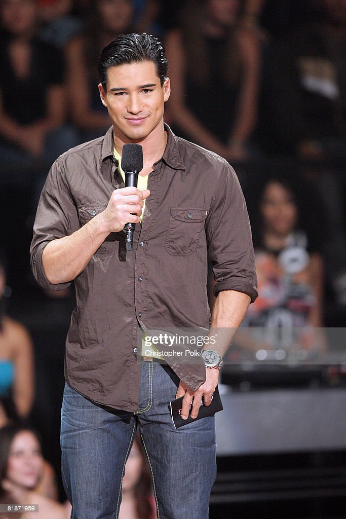 Host Mario Lopez and Randy Jackson during the live finale ... |Mario Lopez Americas Best Dance Crew