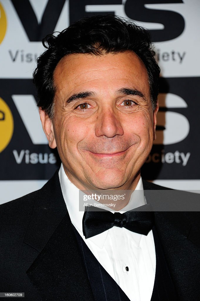 Host Mark DeCarlo arrives at the 2013 Visual Effects Society