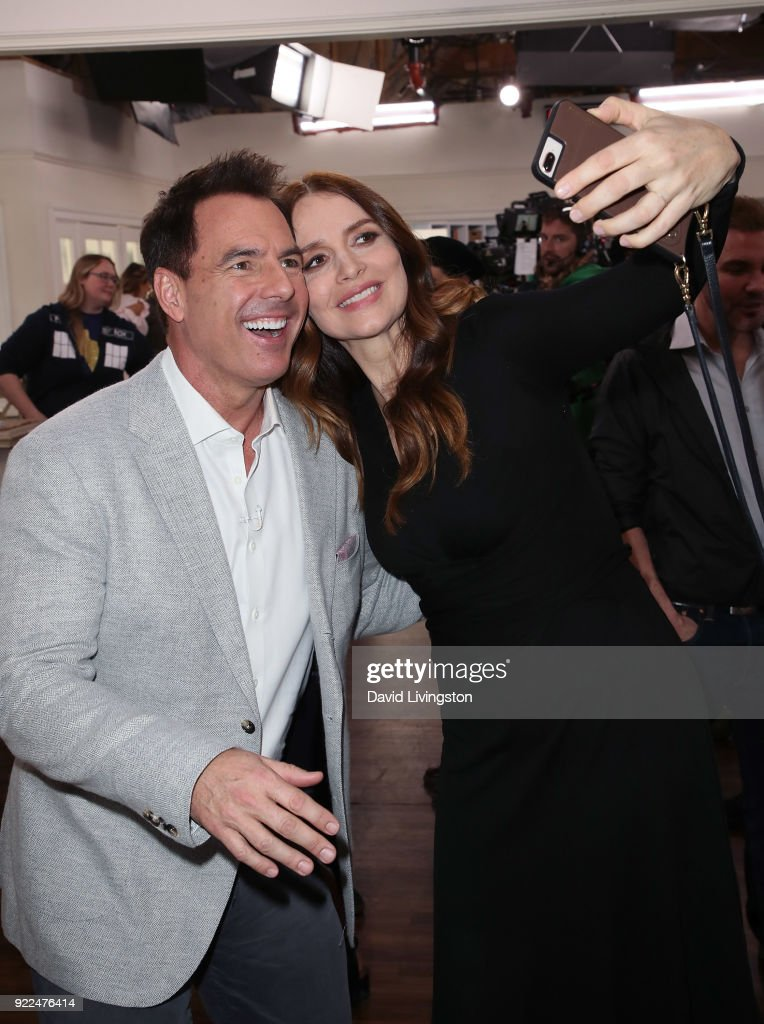 Celebrities Visit Hallmark's 'Home & Family' : News Photo