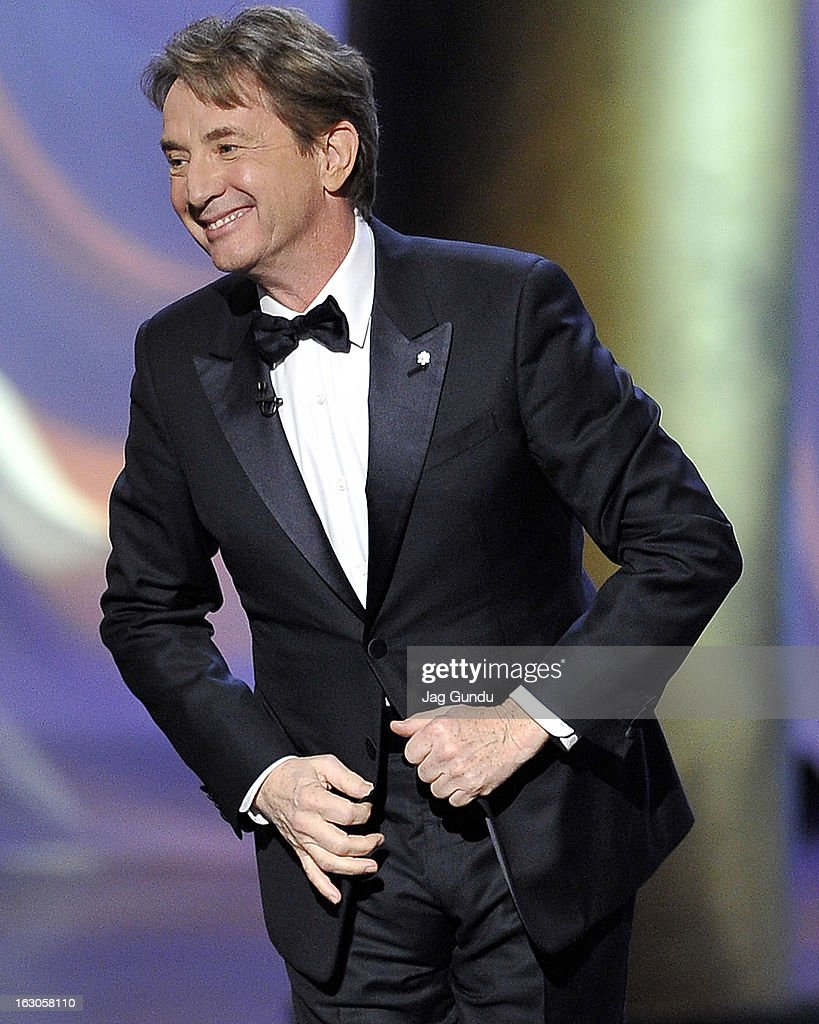 Host Martin Short onstage at the 2013 Canadian Screen Awards at Sony Centre for the Performing Arts on March 3, 2013 in Toronto, Canada.
