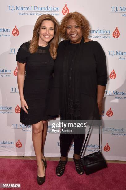 Host Mary Calvi and Honoree Robin Quivers attends the 6th Annual Women Of Influence Awards at The Plaza Hotel on May 11 2018 in New York City