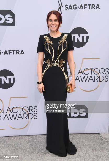 Host Megan Mullally attends the 25th Annual Screen Actors Guild Awards at The Shrine Auditorium on January 27 2019 in Los Angeles California
