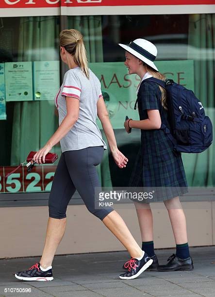 TV host Melissa Doyle is seen on February 17 2016 in Sydney Australia