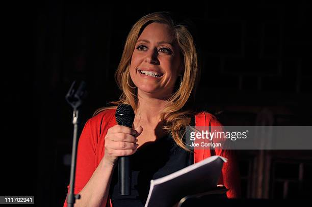 Host Melissa Francis a CNBC anchor and Divorce Wars correspondent attends the firstever The Moment I Knew conversation and cocktail event hosted by...