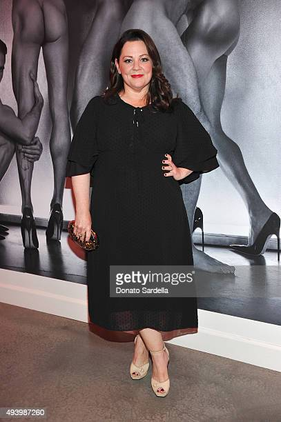 Host Melissa McCarthy attends Brian Atwood's Celebration of PUMPED hosted by Melissa McCarthy and Eric Buterbaugh on October 23 2015 in Los Angeles...