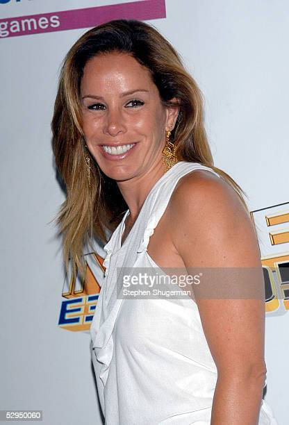 Host Melissa Rivers attends Inside E3 2005 an interactive entertainment party at Avalon Hollywood on May 18 2005 in Hollywood California