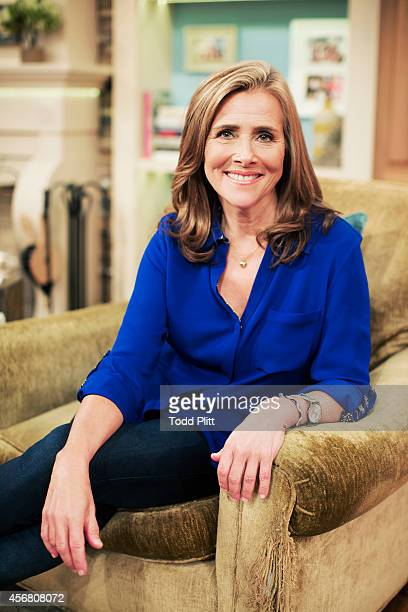 TV host Meredith Vieira is photographed for USA Today on September 3 2014 in New York City PUBLISHED IMAGE