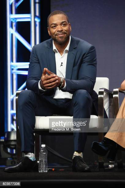 Host Method Man of 'TBS Drop the Mic' speaks onstage during the Turner Networks portion of the 2017 Summer Television Critics Association Press Tour...
