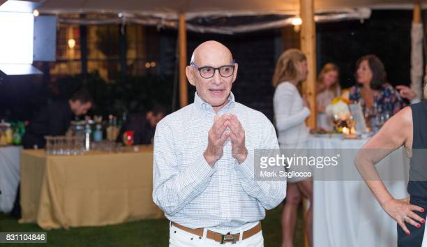 Host Michael Braverman attends Hamptons Magazine's Private Dinner Celebrating East Hampton Library Authors Nighton August 12 2017 in East Hampton New...