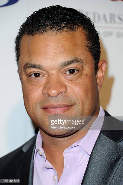 TV host Michael Eaves arrives at the Sports Spectacular 28th Anniversary Gala at the Hyatt Regency Century Plaza on May 19 2013 in Century City...