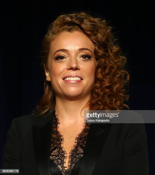Host Michelle Wolf attends the 2018 White House Correspondents' Dinner at Washington Hilton on April 28 2018 in Washington DC