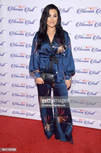 Host Molly Qerim attends the Endometriosis Foundation of America's 9th Annual Blossom Ball at Cipriani 42nd Street on March 19 2018 in New York City
