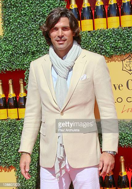Host Nacho Figueras arrives at the 2nd annual Veuve Clicquot polo classic at Will Rogers State Historic Park on October 9, 2011 in Pacific Palisades,...